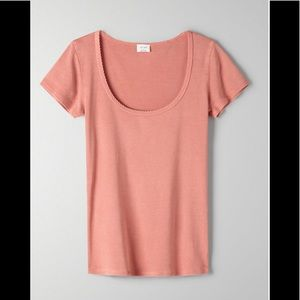 ARITZIA Wilfred Helen t-shirt moroccan spice small